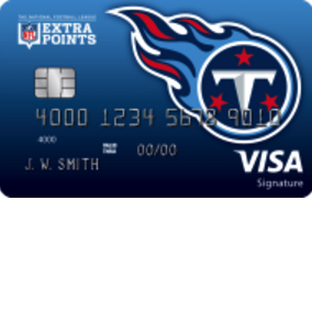Tennessee Titans Extra Points Credit Card