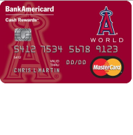 Los Angeles Angels Cash Rewards Mastercard