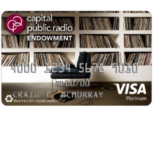 Capital Public Radio Endowment Affinity Card