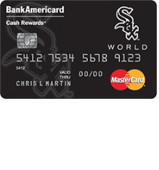 Chicago White Sox Cash Rewards MasterCard