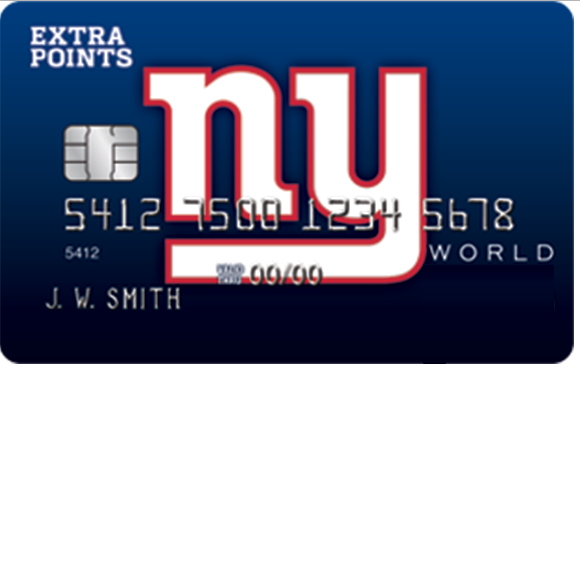 New York Giants Extra Points Credit Card Login | Make a Payment