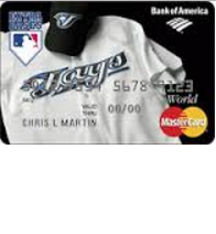 Toronto Blue Jays Cash Rewards Mastercard