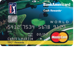 PGA Tour Cash Rewards MasterCard