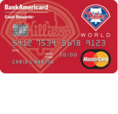 Philadelphia Phillies Cash Rewards Mastercard