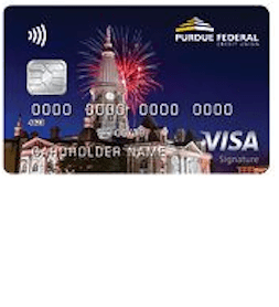 Purdue Federal Visa Signature Credit Card