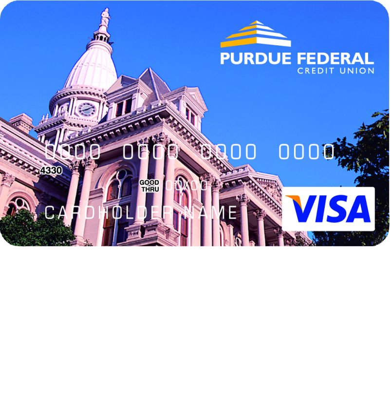 Purdue Federal Visa Secured Credit Card