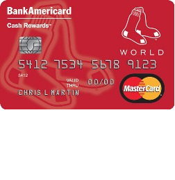 Boston Red Sox Cash Rewards Mastercard