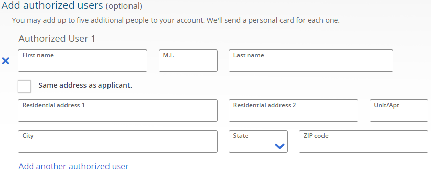 how to add pc points card to account