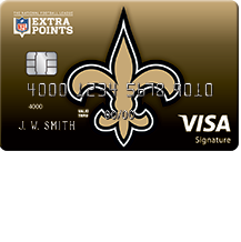 How to Apply for the New Orleans Saints Extra Points Credit Card
