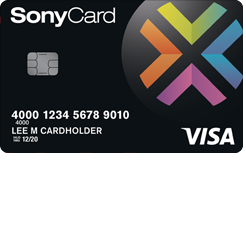 SonyCard Visa Credit Card
