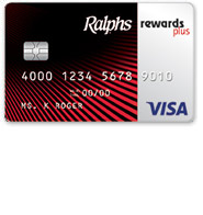 Ralphs Rewards Plus Visa Credit Card