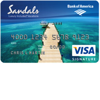 How to Apply for the Sandals Resorts Visa Signature Card