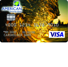 American Savings Bank Platinum Edition Visa Card