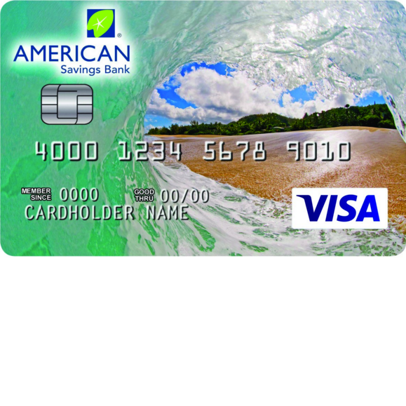 American Savings Bank Secured Visa Card