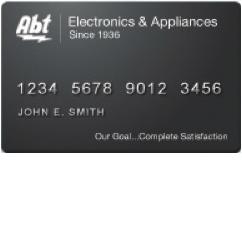 Abt Electronics Credit Card