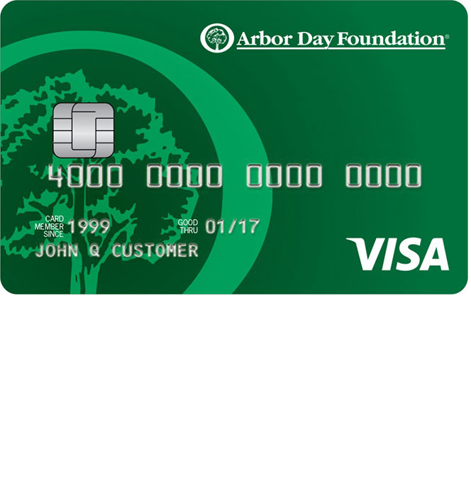 Arbor Day Foundation Rewards Visa Credit Card