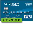 Astoria Bank Business Visa Credit Card