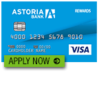 Astoria Bank Complete Rewards Visa Credit Card