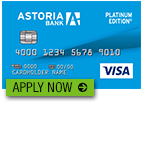 Astoria Bank Platinum Edition Visa Credit Card