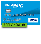 Astoria Bank Secured Visa Credit Card