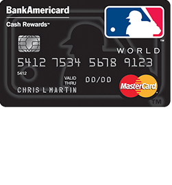 MLB Cash Rewards MasterCard