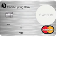 Sandy Spring Bank Secured MasterCard