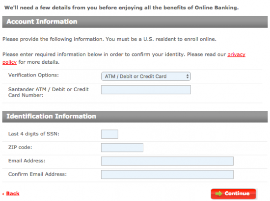 Santander Bank Sphere Credit Card Login | Make a Payment