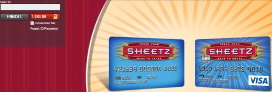 aprovação Sheetz cartão de crédito