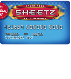 Sheetz Personal Credit Card