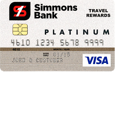 Simmons Bank Visa Platinum Rewards Credit Card