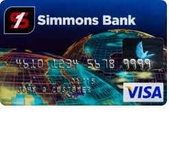 Simmons Bank Visa Platinum Credit Card