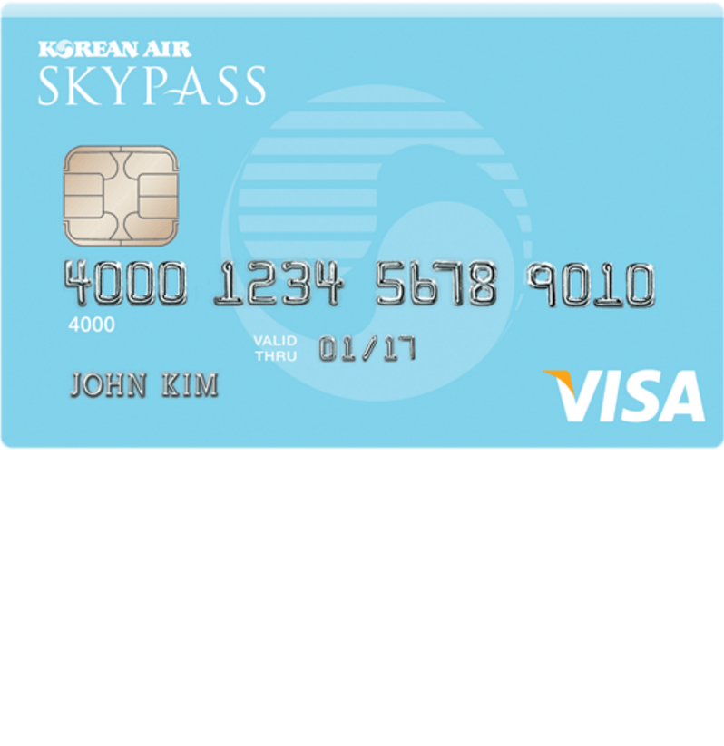 Skyblue SKYPASS Visa Credit Card