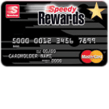 Speedy Rewards MasterCard