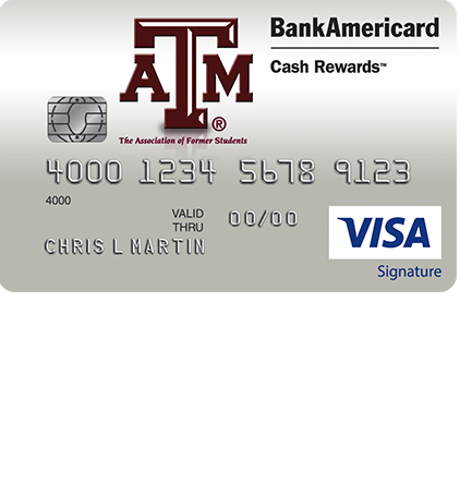 Texas A&M University Cash Rewards Credit Card