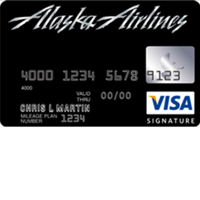 Alaska Airlines Visa Signature/Platinum Plus Credit Card
