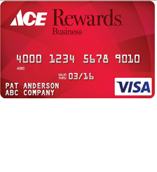 Ace Rewards Visa Business Card
