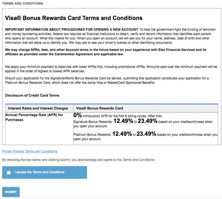 How to Apply for the Amalgamated Bank Visa Bonus Rewards ...