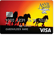 Anvil Brand Visa Credit Card