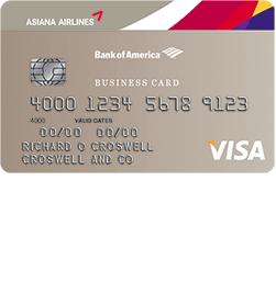 Asiana Visa Business Card Login | Make a Payment
