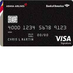 Asiana Airlines Visa Signature Credit Card Login | Make a Payment