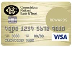 Canandaigua National Bank and Trust Complete Rewards Card