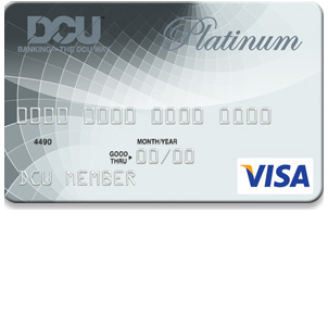 DCU Visa Platinum Credit Card