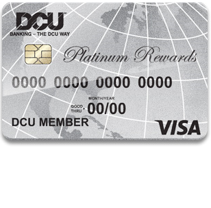 DCU Visa Platinum Rewards Credit Card