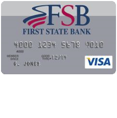 First State Bank Secured Visa Card