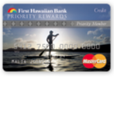 First Hawaiian Bank Priority Rewards Credit Card