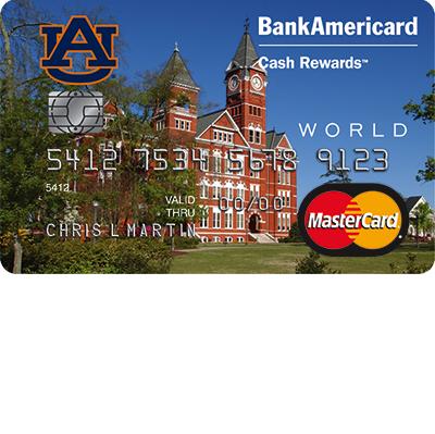 Auburn University BankAmericard Cash Rewards Credit Card Login | Make a Payment