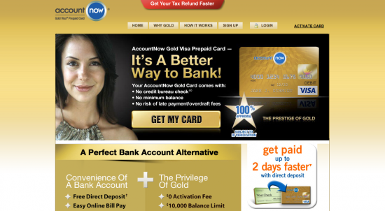 Account Now Credit Card - Apply 1