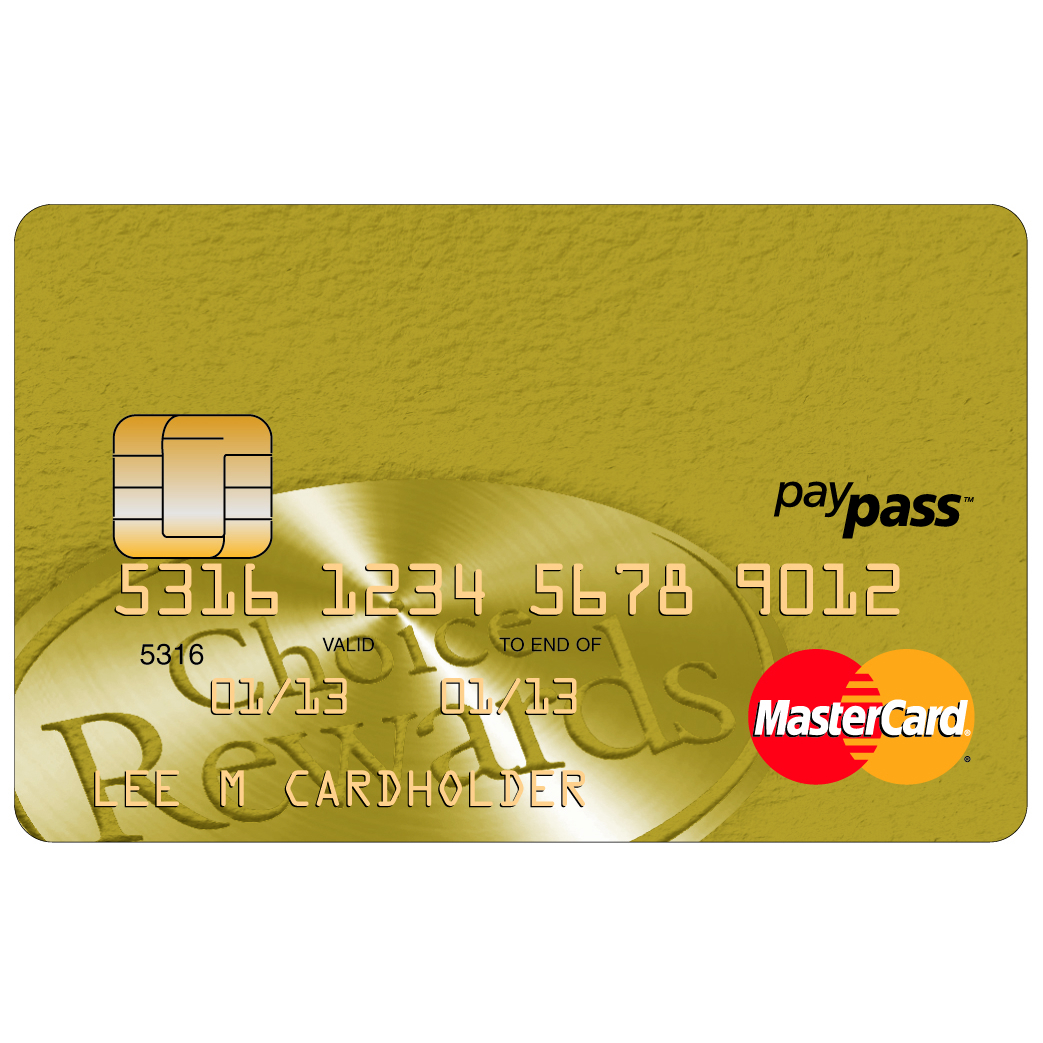Affinity Credit Union Low Fee Gold MasterCard