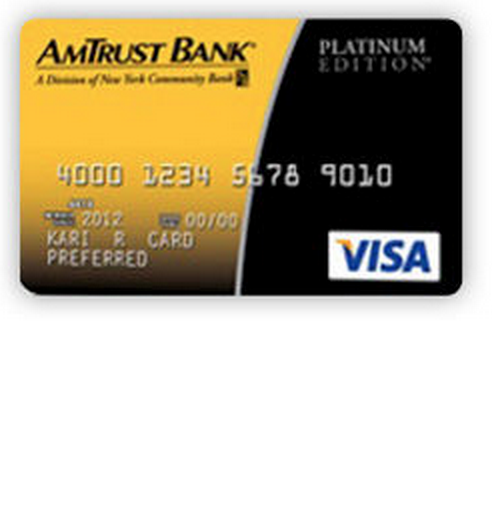 AmTrust Bank Platinum Visa Credit Card