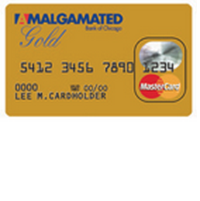 Amalgamated Bank of Chicago Gold MasterCard